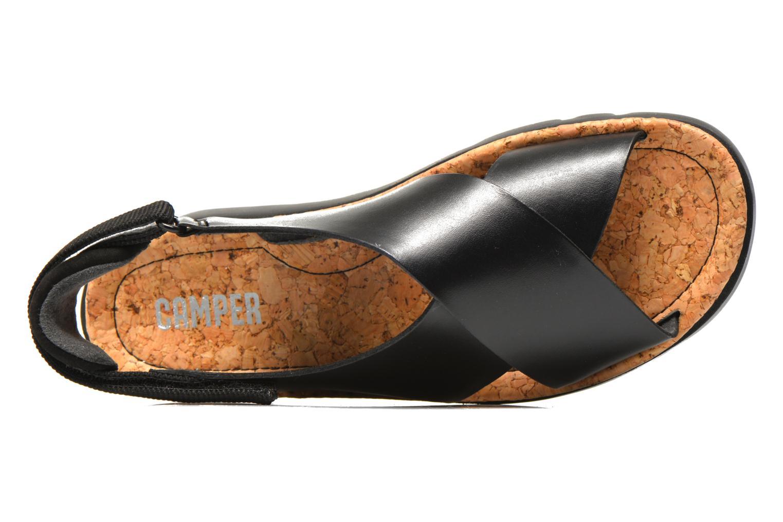 Sandales et nu-pieds Camper Oruga K200157 Noir vue gauche