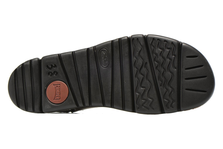Sandales et nu-pieds Camper Oruga K200157 Noir vue haut