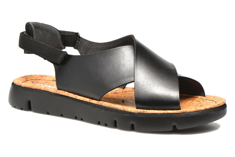 Sandales et nu-pieds Camper Oruga K200157 Noir vue détail/paire