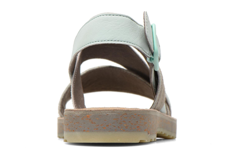 Sandales et nu-pieds Camper Pim Pom K200138 Gris vue droite