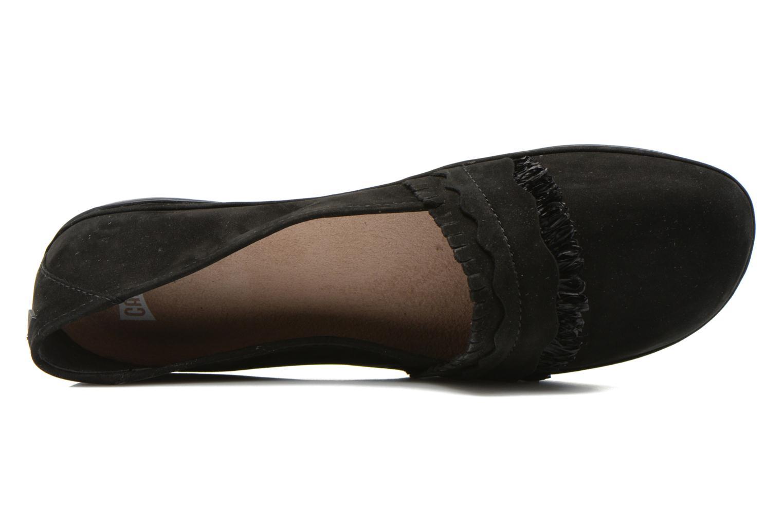 Ballerinas Camper Twss K200143 schwarz ansicht von links