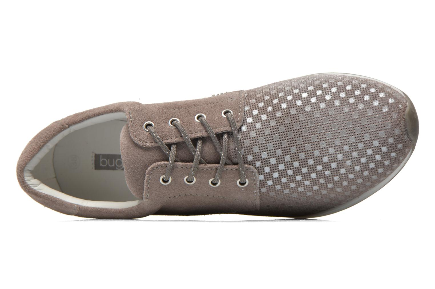 Trainers Bugatti Fina J7801 Beige view from the left
