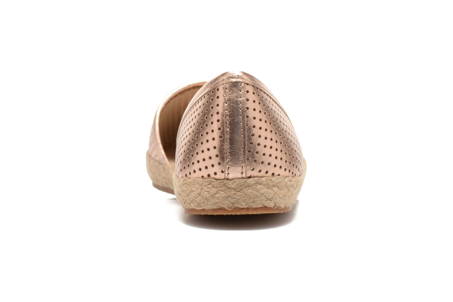 Espadrilles Steve Madden PEACH Pink view from the right