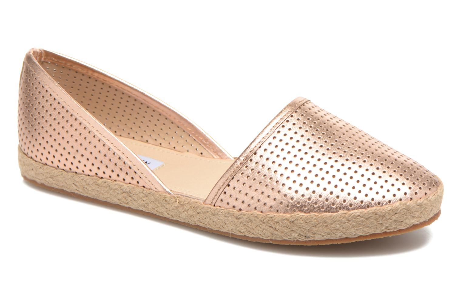 Espadrilles Steve Madden PEACH Pink detailed view/ Pair view