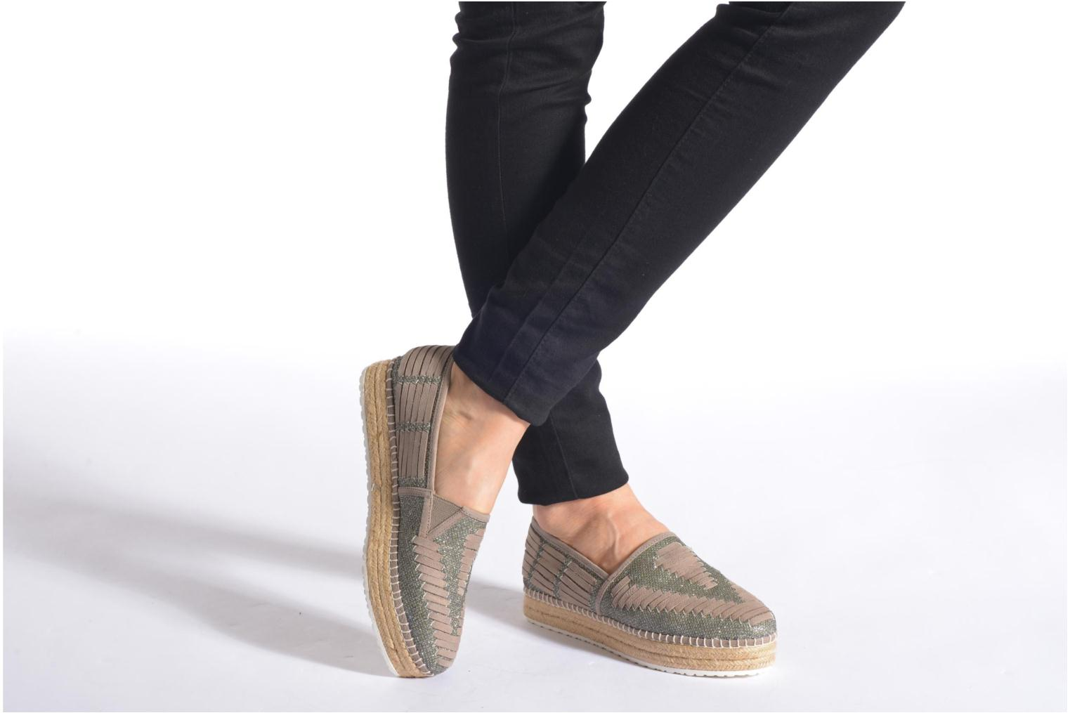Espadrilles Steve Madden CHANCE Multicolor view from underneath / model view