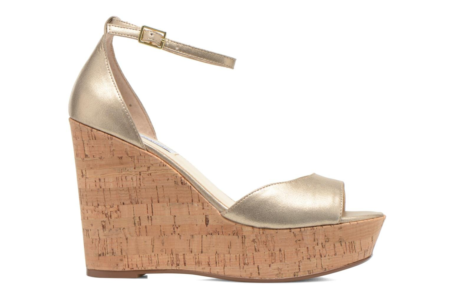Sandals Steve Madden PANDORE Bronze and Gold back view