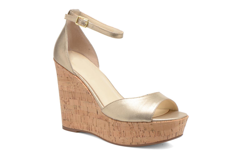 Sandales et nu-pieds Steve Madden PANDORE Or et bronze vue détail/paire