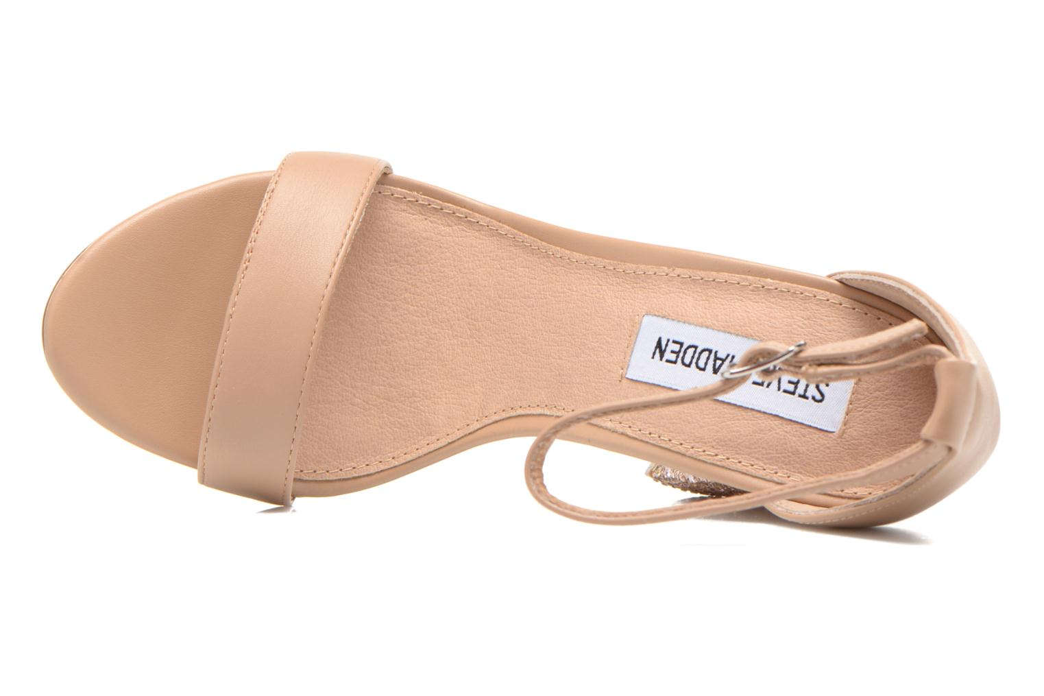 Sandals Steve Madden CARRSON Beige view from the left
