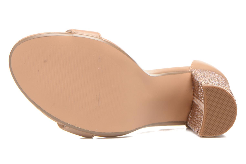 Sandales et nu-pieds Steve Madden CARRSON Beige vue haut