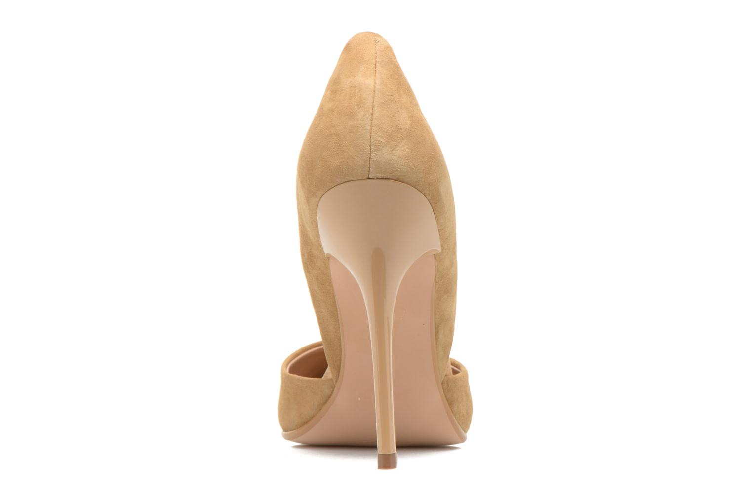 High heels Steve Madden VARCITY Beige view from the right