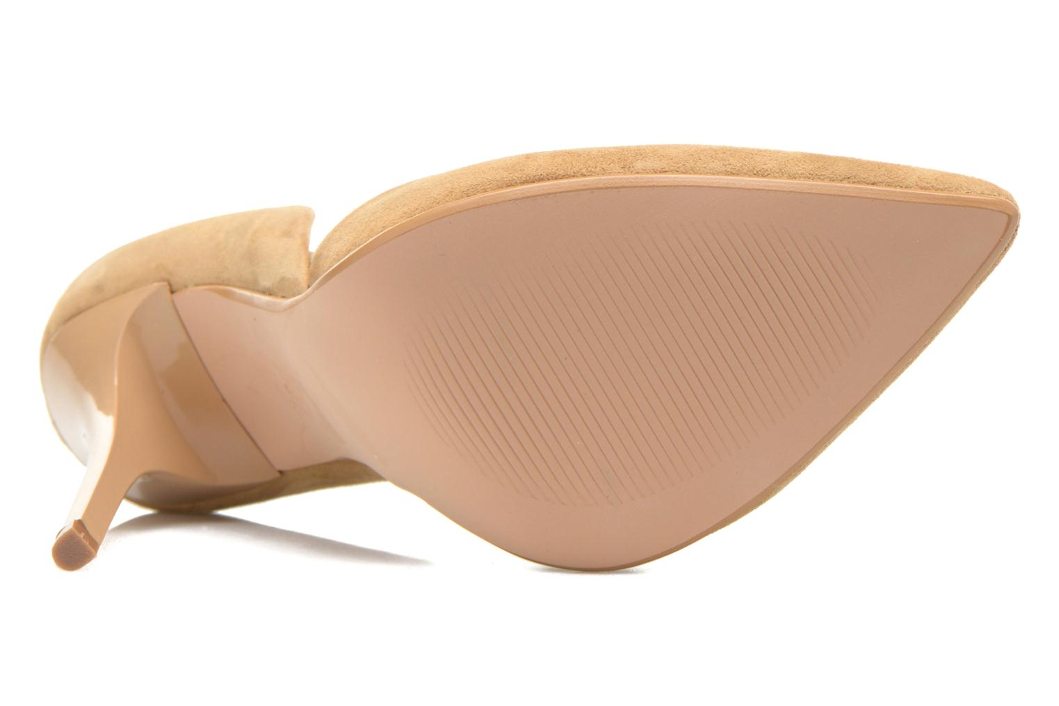 High heels Steve Madden VARCITY Beige view from above