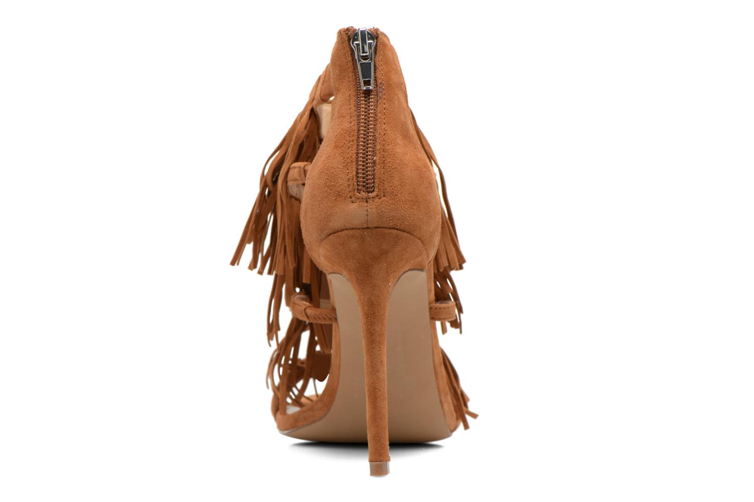 Sandals Steve Madden FRINGLY Brown view from the right