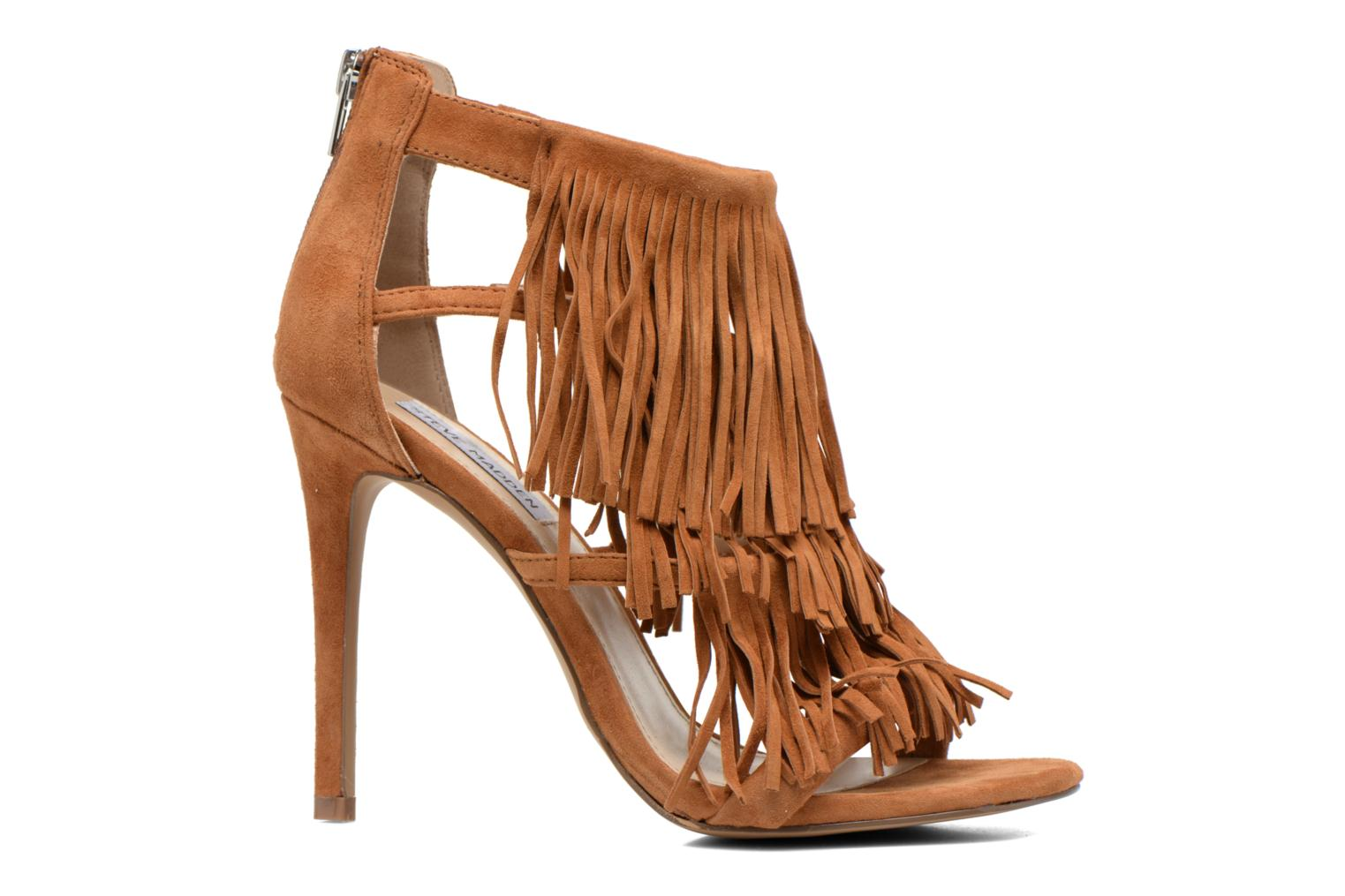 Sandals Steve Madden FRINGLY Brown back view