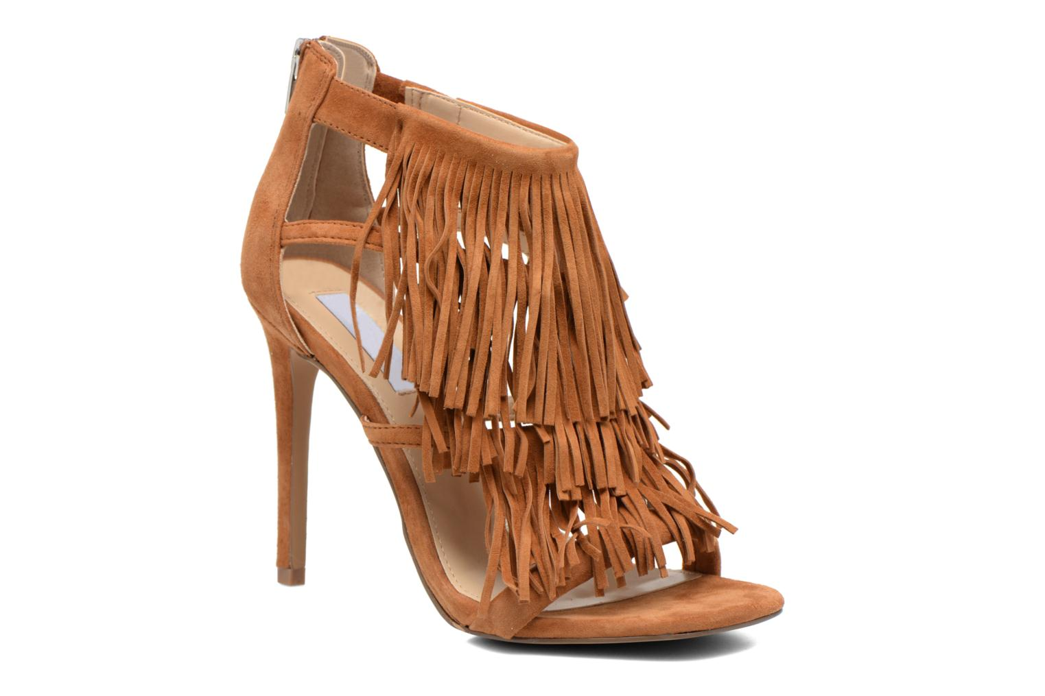 Sandals Steve Madden FRINGLY Brown detailed view/ Pair view