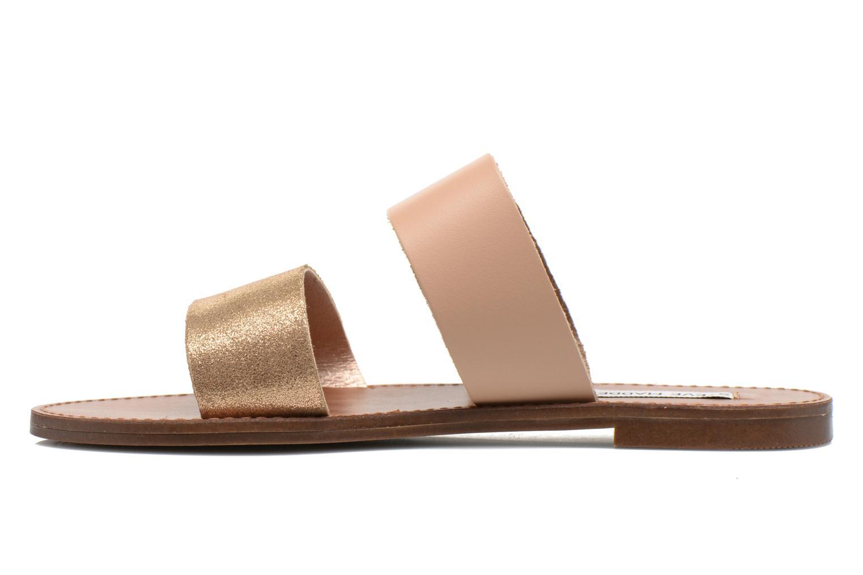 Clogs & Pantoletten Steve Madden MALTA gold/bronze ansicht von vorne