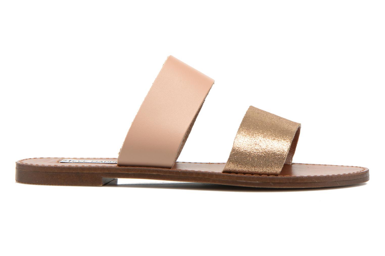 Clogs & Pantoletten Steve Madden MALTA gold/bronze ansicht von hinten