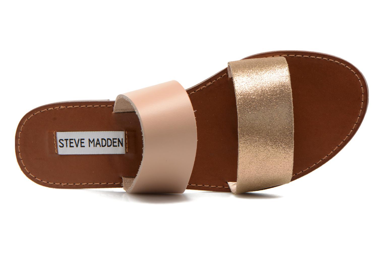 Clogs & Pantoletten Steve Madden MALTA gold/bronze ansicht von links