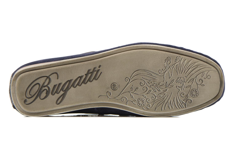 Mocassins Bugatti Berokee Bleu vue haut