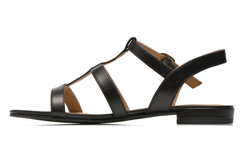 Sandales et nu-pieds Esprit Aely Sandal Noir vue face