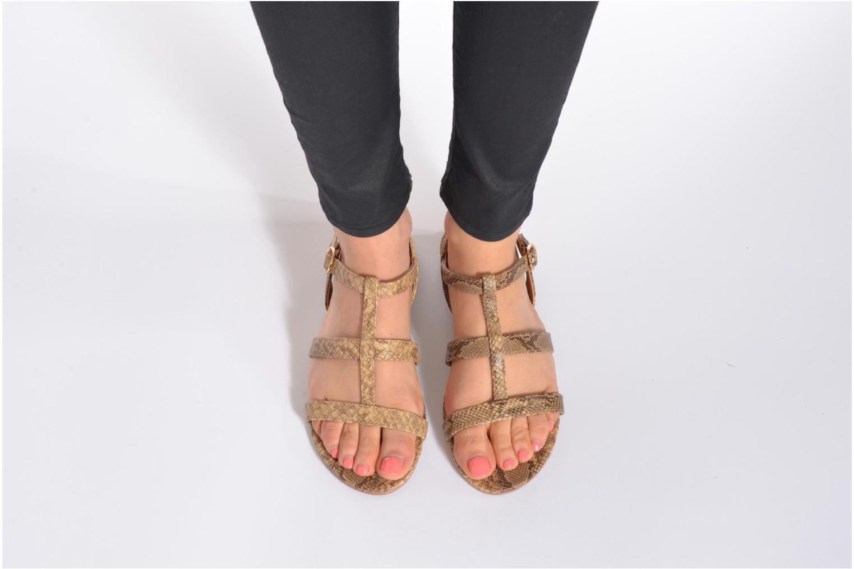 Sandales et nu-pieds Esprit Aely Sandal Beige vue bas / vue portée sac