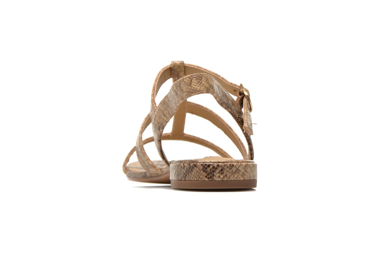 Sandales et nu-pieds Esprit Aely Sandal Beige vue droite