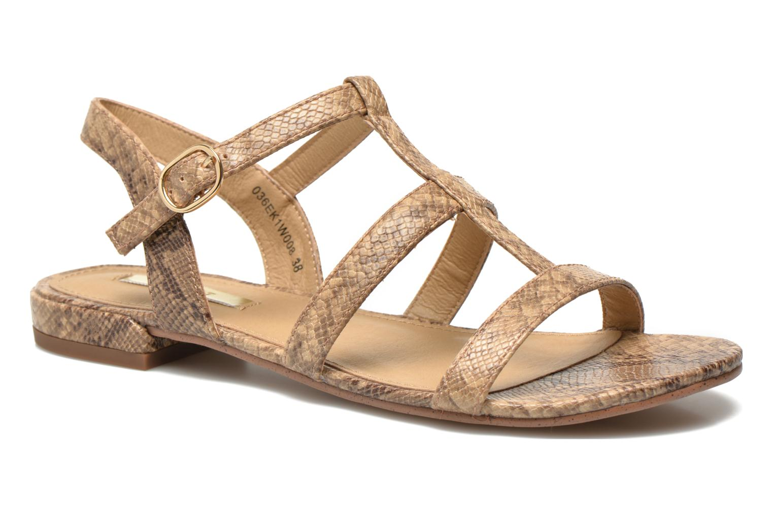 Sandals Esprit Aely Sandal Beige detailed view/ Pair view