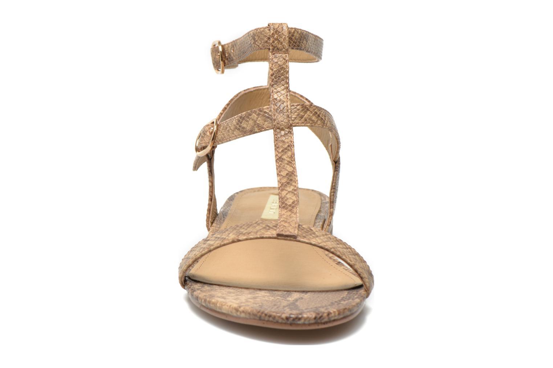 Sandales et nu-pieds Esprit Aely Bis Sandal Beige vue portées chaussures