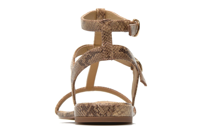 Sandales et nu-pieds Esprit Aely Bis Sandal Beige vue droite