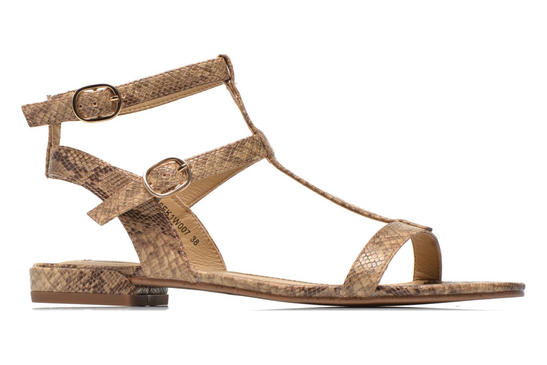 Sandales et nu-pieds Esprit Aely Bis Sandal Beige vue derrière
