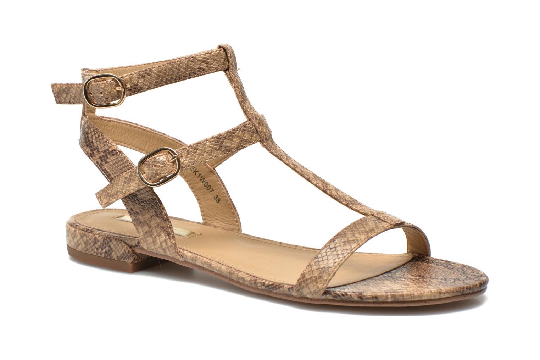 Sandales et nu-pieds Esprit Aely Bis Sandal Beige vue détail/paire