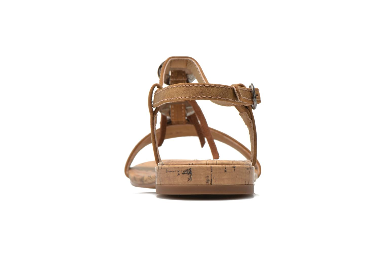 Sandals Esprit Aely Ter Sandal Brown view from the right