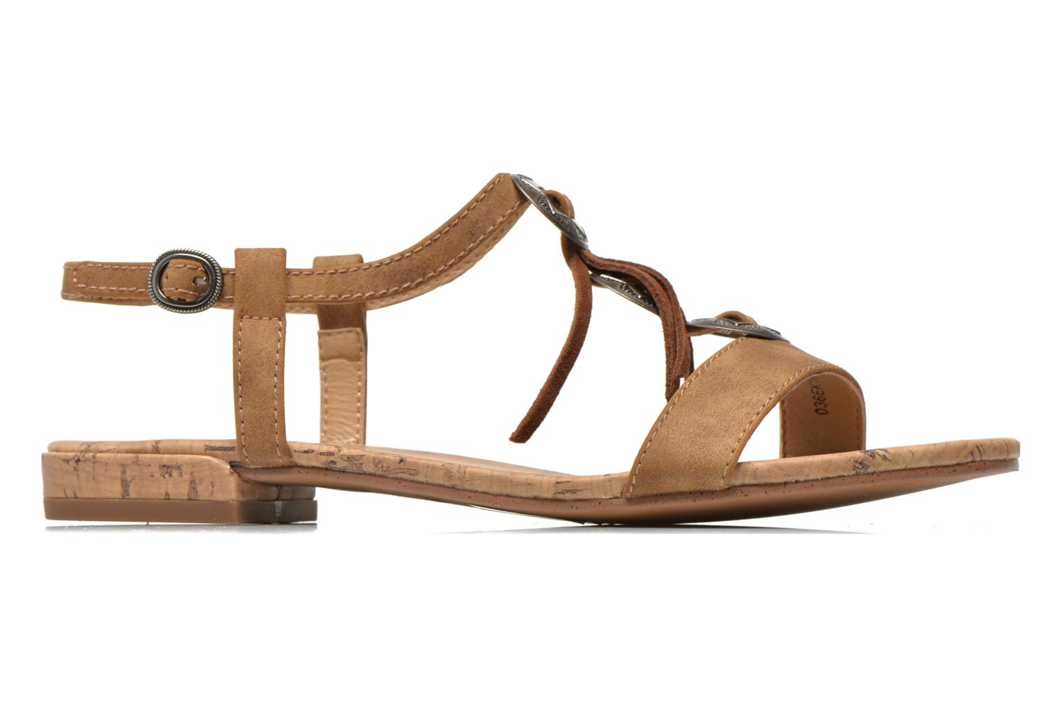 Sandals Esprit Aely Ter Sandal Brown back view
