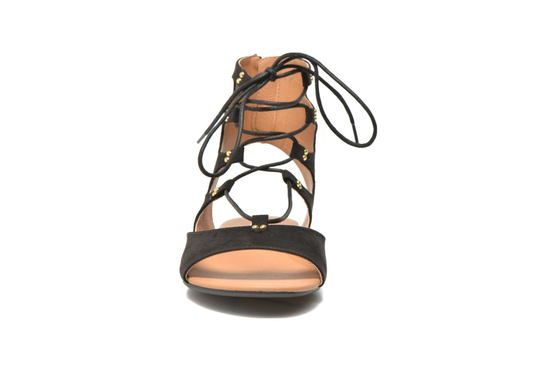 Sandalen Esprit Pepe Sandal 2 schwarz schuhe getragen