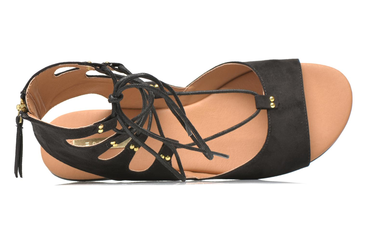 Sandals Esprit Pepe Sandal 2 Black view from the left