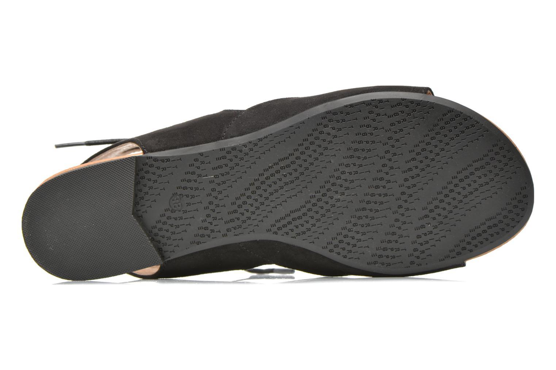 Sandalen Esprit Pepe Sandal 2 schwarz ansicht von oben