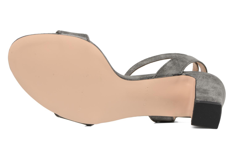 Sandales et nu-pieds Esprit Bless Sandal Gris vue haut