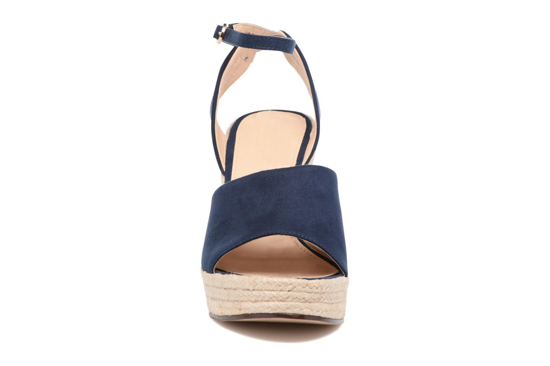 Sandales et nu-pieds Esprit Twiggy Sandal Bleu vue portées chaussures