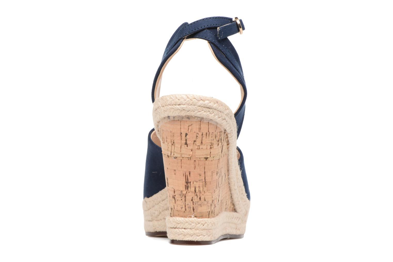 Sandales et nu-pieds Esprit Twiggy Sandal Bleu vue droite