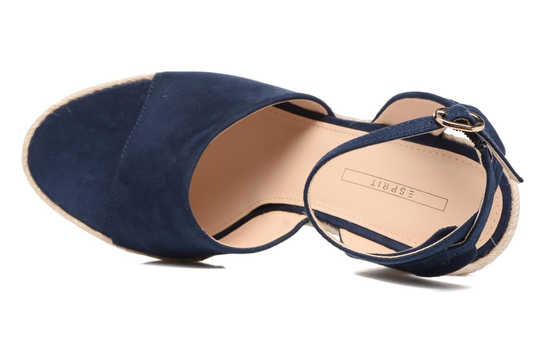 Sandales et nu-pieds Esprit Twiggy Sandal Bleu vue gauche