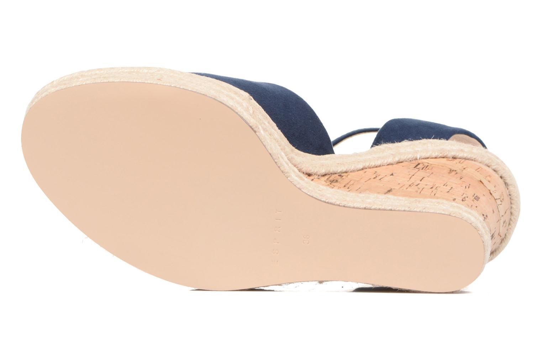 Sandales et nu-pieds Esprit Twiggy Sandal Bleu vue haut