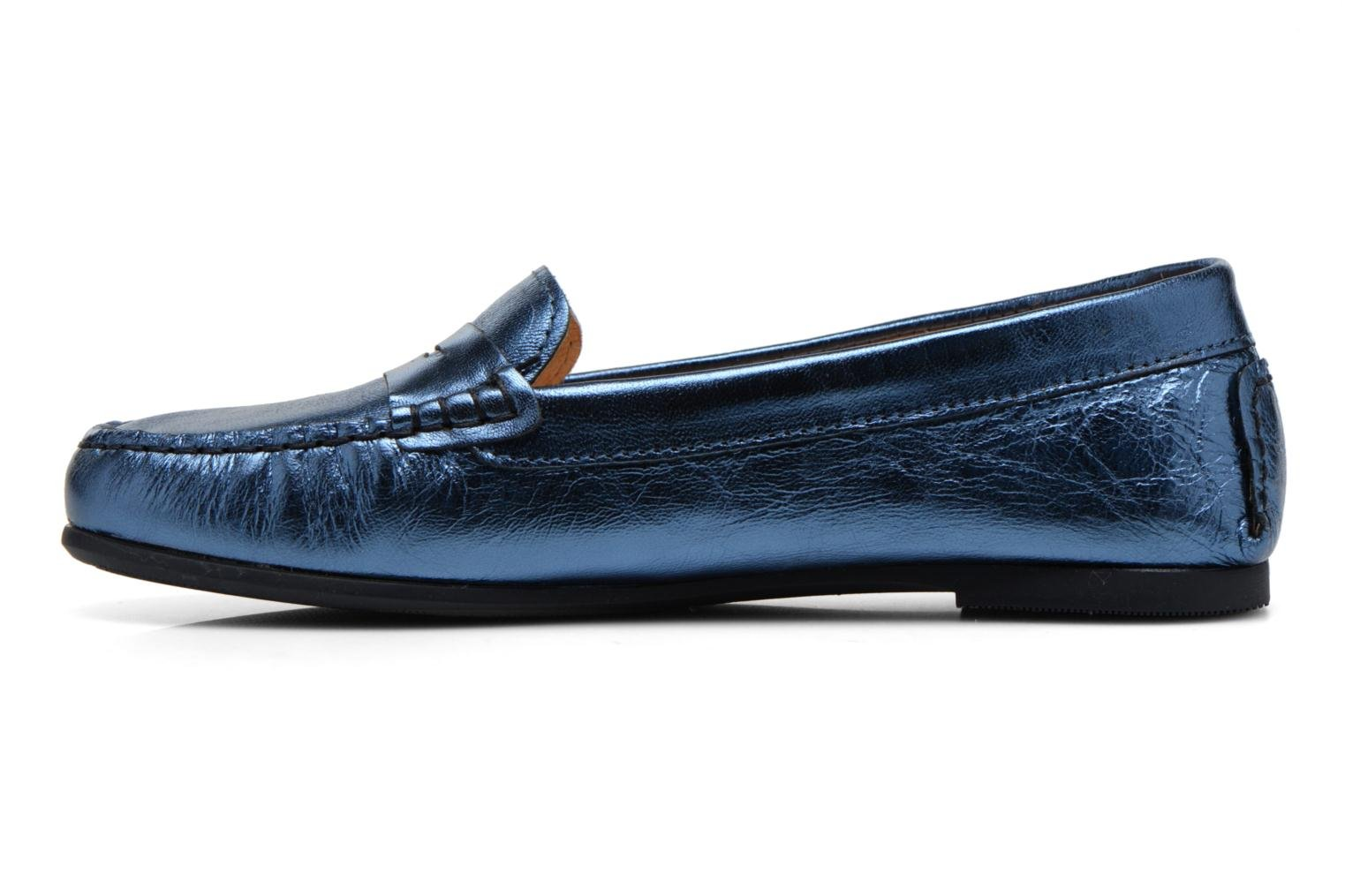 Loafers HE Spring Rita Penny Blue front view