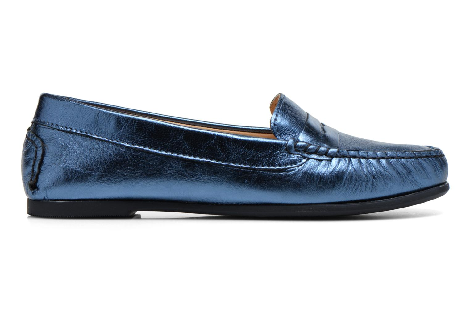 Loafers HE Spring Rita Penny Blue back view