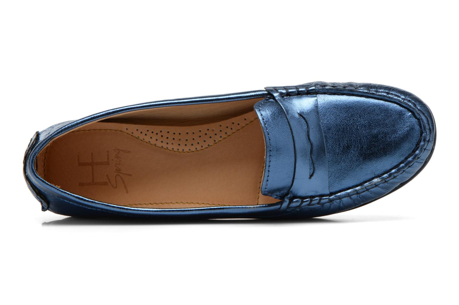 Loafers HE Spring Rita Penny Blue view from the left