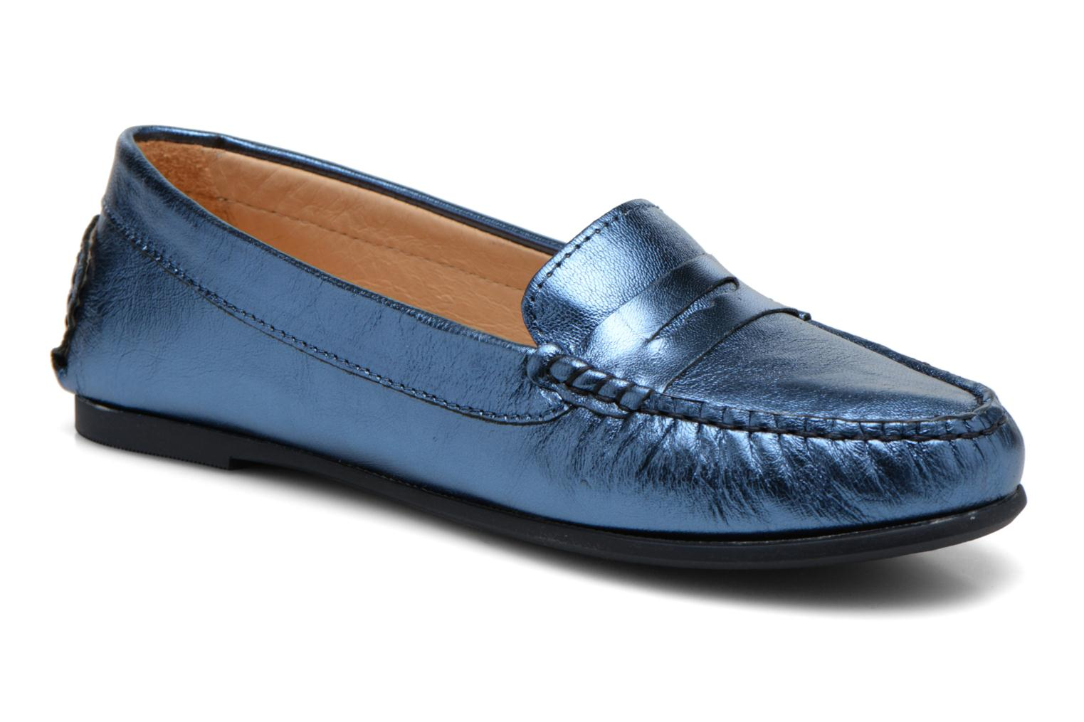 Loafers HE Spring Rita Penny Blue detailed view/ Pair view