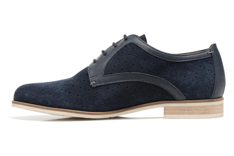 Zapatos con cordones HE Spring Bellem Azul vista de frente