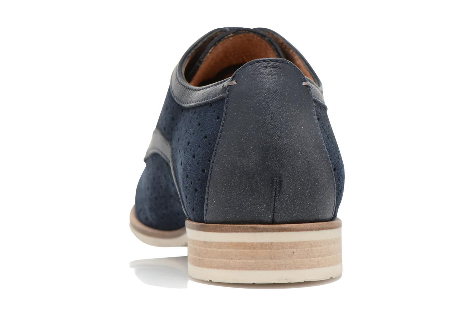 Lace-up shoes HE Spring Bellem Blue view from the right