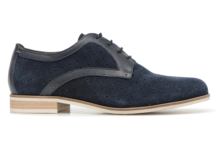 Zapatos con cordones HE Spring Bellem Azul vistra trasera