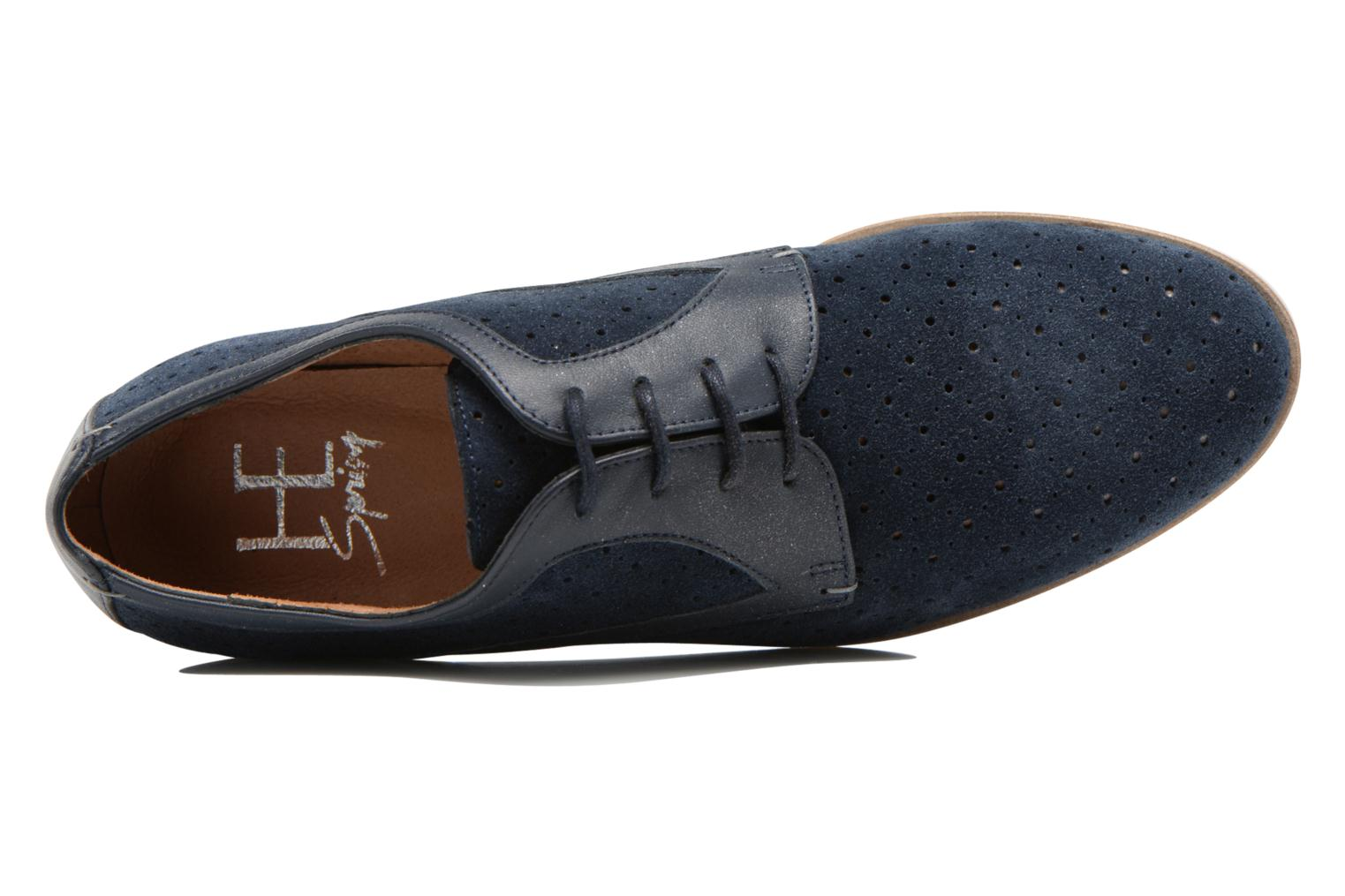Lace-up shoes HE Spring Bellem Blue view from the left