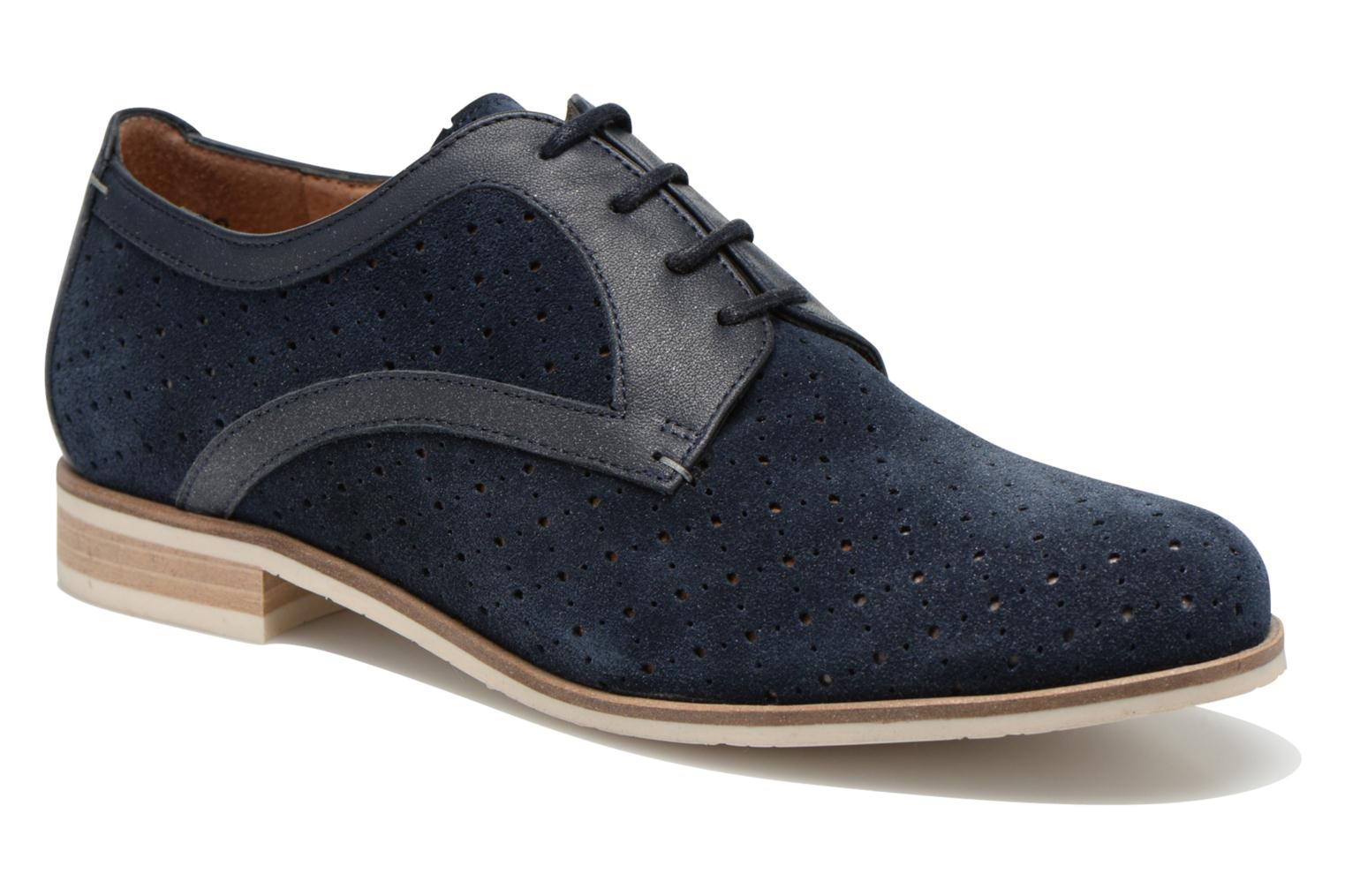 Lace-up shoes HE Spring Bellem Blue detailed view/ Pair view
