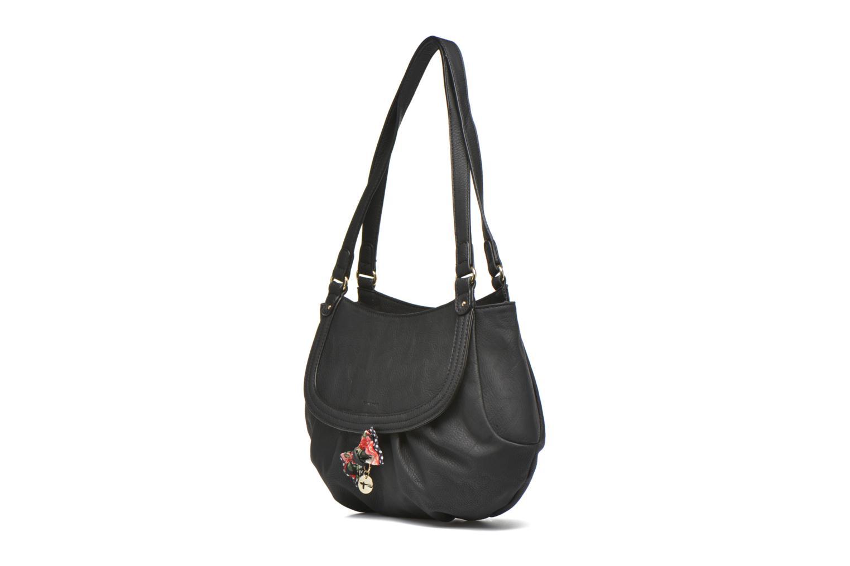 Sacs à main Tamaris Lea - Shoulder bag Noir vue portées chaussures